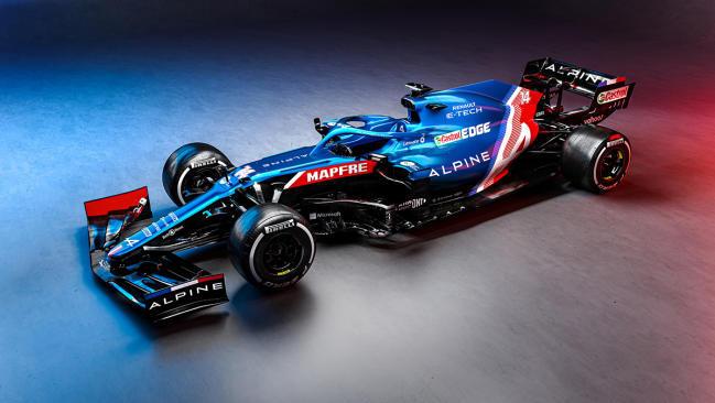 Alpine A521: el F1 de Fernando Alonso para 2021
