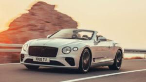 Fotos del Bentley Continental GT Convertible 2019