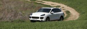 Fotos de la prueba del Porsche Cayenne