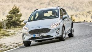 Fotos del Ford Fiesta Active en acción