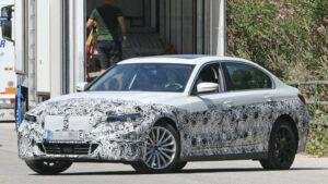 Fotos espía del BMW i3/Serie 3 eléctrico
