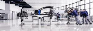 Fotos de la fábrica Bugatti en Molsheim
