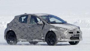 Fotos espía del Toyota Yaris SUV