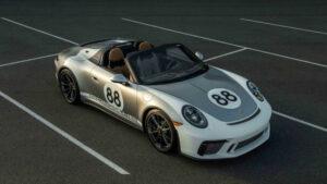 Subastado el último Porsche 911 991