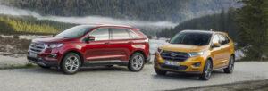 Fotos de la primera prueba del Ford Edge