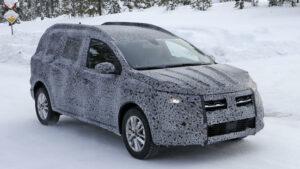 Fotos espía del Dacia Logan MCV 2021