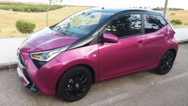 Toyota Aygo x-cite: edición especial desde 105 euros al mes