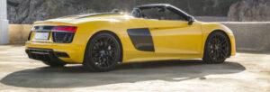 Fotos de la prueba del Audi R8 Spyder