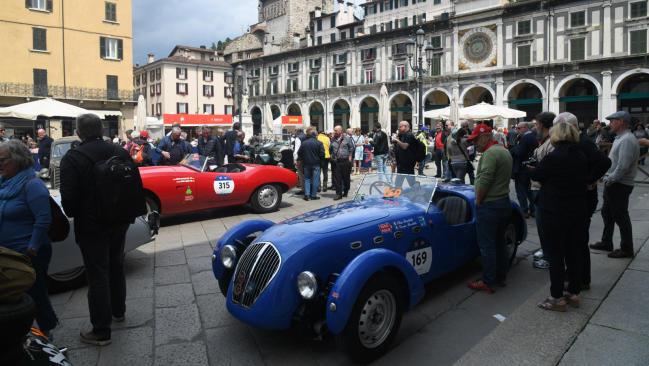 Mille Miglia 2019: los italianos Morceri y Bonetti se hacen con la victoria