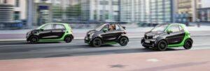 Fotos del Smart Electric Drive 2017