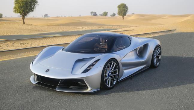 Lotus Evija: el coche más potente del mundo