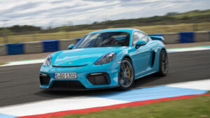 Fotos del Porsche 718 Cayman GT4 a prueba