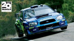 Fotos: Petter Solberg prueba el Subaru Impreza WRC