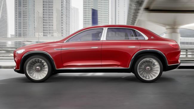 El Vision Mercedes-Maybach Ultimate Luxury se desvela en China