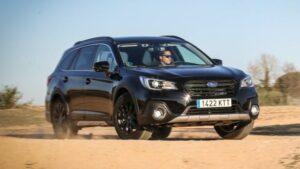 Fotos del Subaru Outback Black Edition 2019