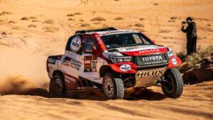 Fotos de Fernando Alonso en el Dakar