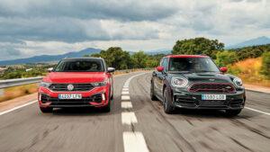 Fotos: Mini Countryman JCW vs. VW T-Roc R