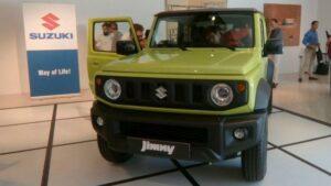 Fotos en vivo del nuevo Suzuki Jimny