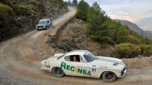 Fotos de los mejores coches del Spain Classic Raid 2018
