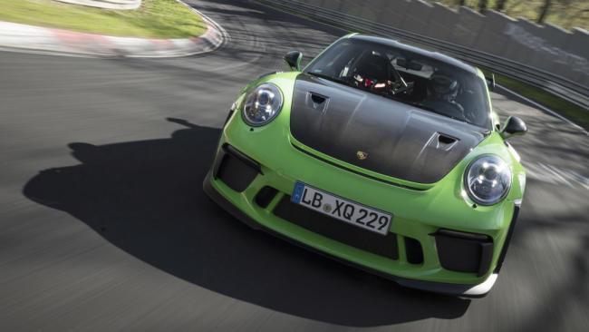El Porsche 911 GT3 RS completa Nürburgring en 6:56 minutos