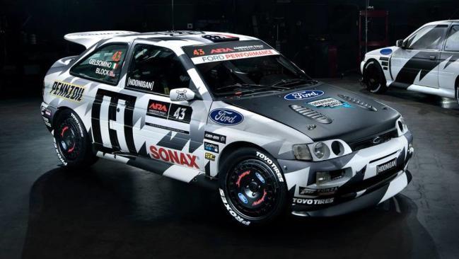 Ken Block regresa a los rallyes con un Ford Escort Cosworth