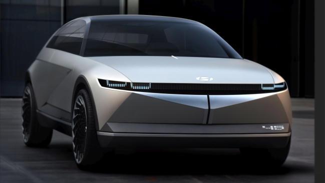 Hyundai 45 EV Concept: un SUV eléctrico y autónomo que mira al futuro