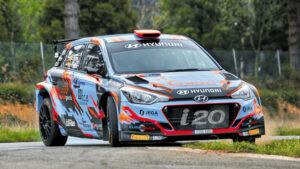 Fotos del Hyundai i20 R5 de Iván Ares en acción