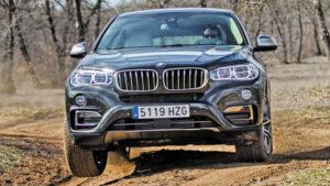 Fotos del BMW X6 en acción