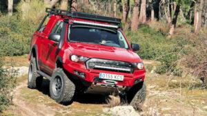 Fotos del Ford Ranger preparación Misutonida