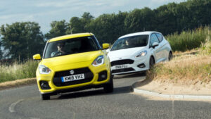 Comparativa Suzuki Swift Sport vs Ford Fiesta ST-Line