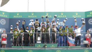 Fotos de la victoria de Alonso en Le Mans 2019