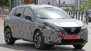 Fotos espía del Nissan Qashqai 2021