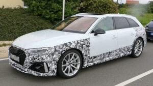 Fotos espía del Audi RS 4 Avant