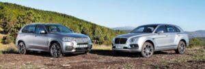 Comparativa Bentley Bentayga Diesel vs BMW X5 M50d