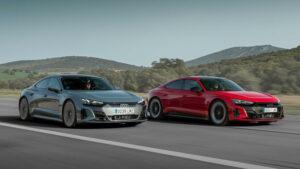 Fotos: Prueba Audi e-tron GT y RS e-tron GT