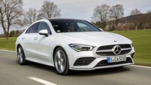Fotos del Mercedes CLA Coupé 2019 en acción