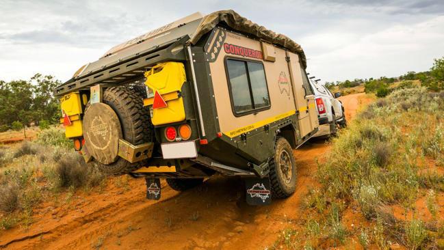 Conqueror Australian, los remolques caravana todoterreno más duros