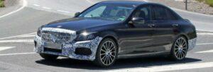 Fotos espía del nuevo Mercedes C