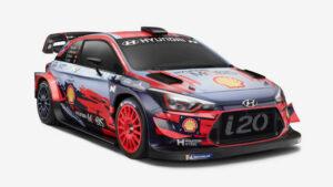 Fotos del Hyundai i20 Coupé WRC 2019