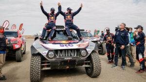 Duodécima etapa (final) del Rally Dakar