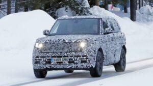 Fotos espía del Range Rover LWD