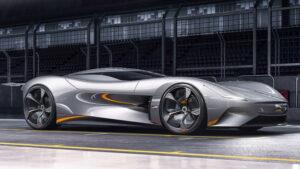 Fotos del Jaguar Vision Gran Turismo Coupé