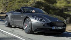 Fotos de la prueba de Aston Martin DB11 Volante