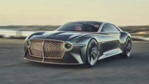 Nuevas fotos del Bentley EXP 100 GT