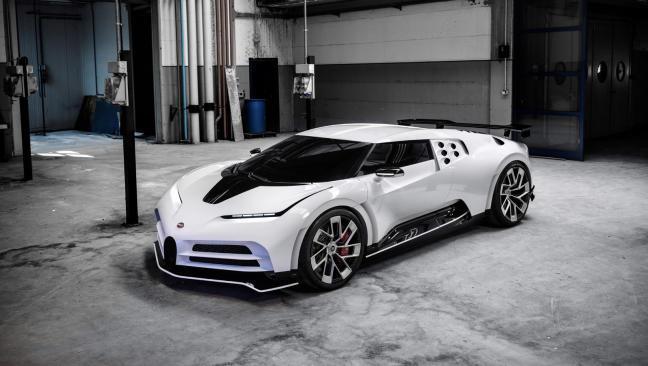 Bugatti Centodieci 2021, el coche de Cristiano Ronaldo para celebrar el Scudetto