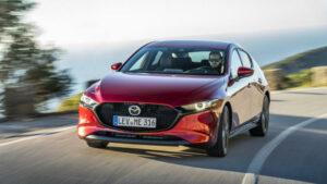 Fotos del Mazda 3 2019 en acción