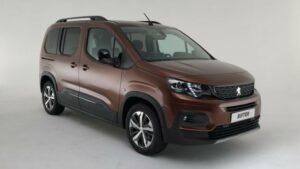 Fotos exclusivas del Peugeot Rifter