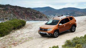 Fotos de la prueba del Dacia Duster 2018