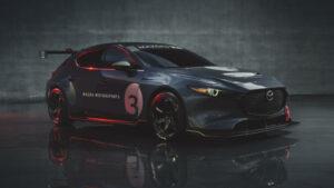 Fotos del Mazda 3 TCR