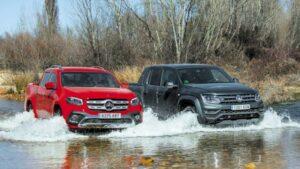 Comparativa: Mercedes-Benz Clase X vs. Volkswagen Amarok